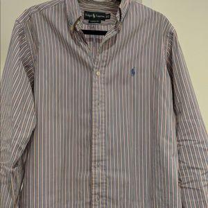 Ralph Lauren Shirt, Classic Fit, pink/blue